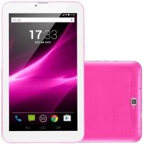 "Tablet Multilaser M9, 9"", 3G, Android 6.0, 2MP, 8GB - Rosa -"