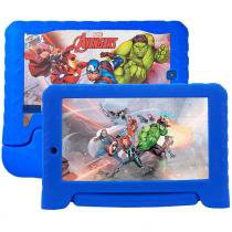 "Tablet Multilaser Marvel Vingadores NB280, 7"", Android 7.0, 2MP, 8GB - Azul -"