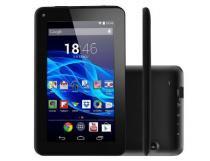 """Tablet Multilaser ML Supra, Preto, NB199, Tela de 7"""", 8GB, 2MP -"""
