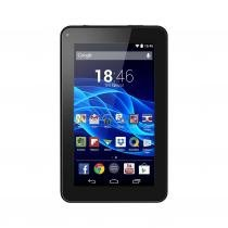 "Tablet Multilaser ML Supra Preto Quad Core Android 4.4 Kit Kat Dual Câmera WiFi Tela 7"" Memoria 8GB NB199 -"