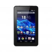 "Tablet Multilaser ML Supra Preto Quad Core Android 4.4 Kit Kat Dual Câmera WiFi Tela 7"" Memoria 8GB NB199 - Preto - Multilaser"