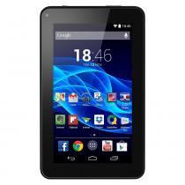 Tablet multilaser nb184 m7s tela de 7 polegadas 8 gb quad core 1,2 ghz android 4.4 kit kat dual camera wi-fi preto - Multilaser