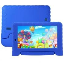 "Tablet Multilaser NB278, Azul, Tela 7"", Wi-Fi, Android 7.0, 2MP, 8GB -"