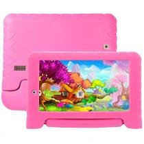 "Tablet Multilaser NB279, Rosa, Tela 7"", Wi-Fi, Android 7.0, 2MP, 8GB -"