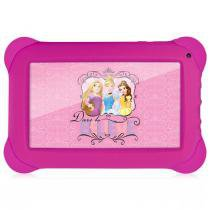 "Tablet Multilaser Princesas, Tela de 7"", Quad Core, Android 4.4, Wi-Fi - NB239 -"