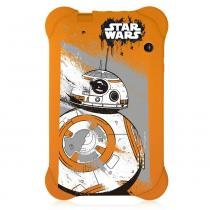 Tablet Multilaser Quad Core 7 Polegadas Wi-fi 8GB Case Star Wars BB8 NB238 -
