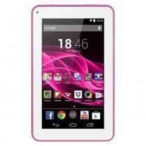 "Tablet Multilaser Supra Rosa 7"" Quad Core 8gb - NB201 -"