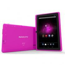 "Tablet Navcity 7"", Dual Core, Android 4.2, Wi-Fi, 512MB de Memória, Rosa - NT1711 - Navcity"