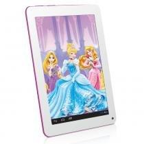 Tablet Princesas Disney Android 4.2 Wi-Fi Tela 7 Touchscreen e Memória Interna 8GB - Tectoy -