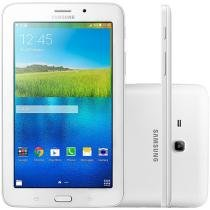 "Tablet Samsung Galaxy E 8GB 7"" 3G Wi-Fi - Android 4.4 Proc. Quad Core Câm. 2MP + Frontal"