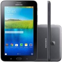 "Tablet Samsung Galaxy E 8GB 7"" 3G Wi-Fi Android 4.4 Quad Core Câmera Integrada"
