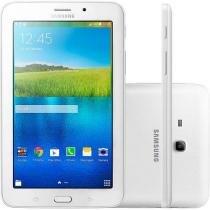"Tablet Samsung Galaxy E 8GB 7"" Wi-Fi Android 4.4 Proc. Quad Core Câmera Integrada"