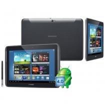 """Tablet Samsung Galaxy Note 10.1 N8000 Cinza com 3G Android 4.0 Tela 10.1"""" Processador Quad Core de 1.4 GHz 16GB Câmera 5MP S-Pen Wi-Fi e GPS -"""