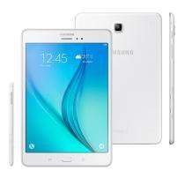 Tablet Samsung Galaxy Tab A 4G SM-P355M com S Pen, Tela 8, 16GB, Câmera 5MP, GPS, Android 5.0, Processador Quad Core 1.2 Ghz  Branco - SAMSUNG