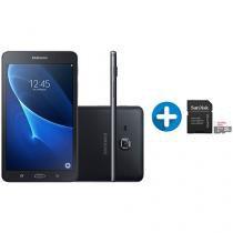 "Tablet Samsung Galaxy Tab A T285 8GB 7"" 4G Wi-Fi - Android 5.1 + Cartão de Memória 32GB SanDisk"