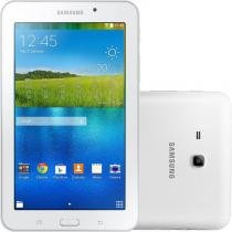 "Tablet Samsung Galaxy Tab E 7.0"" Branco 8GB Wi-Fi Câmera 2MP Quad Core 1 GB de RAM -"