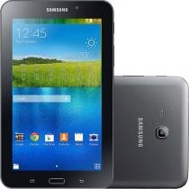 "Tablet Samsung Galaxy Tab E 7.0"" Preto 8GB Wi-Fi Câmera 2MP Quad Core 1 GB de RAM -"