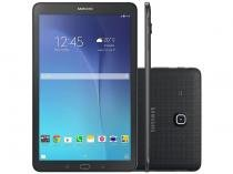 "Tablet Samsung Galaxy Tab E 8GB 9,6"" 3G Wi-Fi - Android 4.4 Proc. Quad Core Câm. 5MP + Frontal"