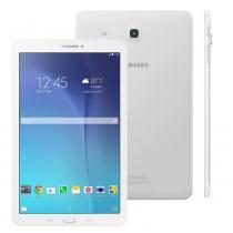 Tablet Samsung Galaxy Tab E 9.6 3G SM-T561 com Tela 9.6, 8GB, Câmera 5MP, GPS, Android 4.4, Processador Quad Core 1.3 Ghz - Branco -