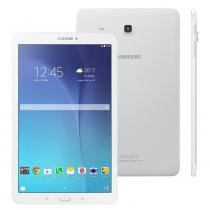 Tablet Samsung Galaxy Tab E SM-T560, Tela 9.6, Wi-Fi, GPS, 8GB, Quad Core 1.3Ghz, Câmera 5MP, Branco -