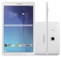 Tablet Samsung Galaxy Tab E T561M 3G - Tela 9.6, Android, Wi-Fi, 8GB, Quad-Core - Branco -