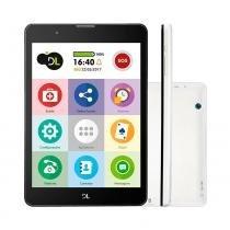 Tablet TabFácil DL Tela 7.85 Polegadas 3G Wi-Fi 8GB Quad Core TX385BRA - Dl tablets