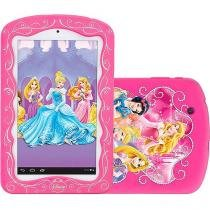"Tablet Tectoy Princesas 2 8GB Tela 7"" Wi-Fi - Android 4.2 Proc. Dual Core Câm. 2MP + Frontal"