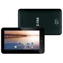 """Tablet Zagg Z Tab 7"""" PC 722 Preto com Tela 7"""", 4GB, Câmera VGA, Suporte à Modem 3G, Wi-Fi, Android 4 - Zagg"""