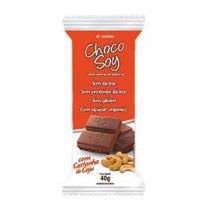 Tablete Chocolate Soja Diet Castanha de Caju Choco Soy 40g - Olvebra