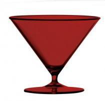 Taça Atena 6 unidades 230 ml Acrílico alto padrão Kaballa - não descartável - Kaballa