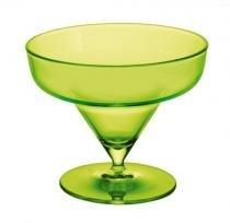 Taça Iris 6 unidades 270 ml Acrílico alto padrão Kaballa - não descartável - Kaballa