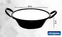 Tacho esmaltado p/ frituras n22 p(55cm) 14 l fritania c 310 -