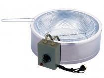 Tacho para Frituras Elétrico 7L Inox Progás PR 70E - c/ Cesto Removível e Termostato Ajustável