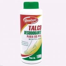 Talco Desodorante para Os Pés Qualypé Mentolado - Única - QUALYPE