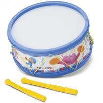 Tamborete de Brinquedo Turma do Pocoyo Azul Plástico - Brinquedos Cardoso