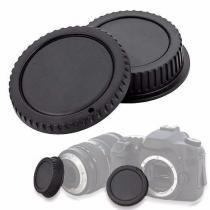 Tampa de proteção para corpo e objetiva DSLR - Canon - Rollin