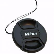 Tampa Para Lente Nikon Rosca De 55mm Com Logo Nikon - Oem