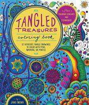 Tangled Treasures Coloring Book - Quayside publishing