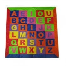 Tapete Alfabeto em Corino - Dedobrinquedo