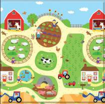 Tapete Baby Play Mat Pequeno Busy Farm -  Safety 1st -