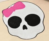 Tapete Big Caveira - Pink - Guga Tapetes