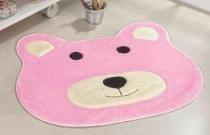 Tapete Big Urso - Rosa - Guga Tapetes