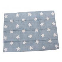 Tapete Blue Stars White 1,20m x 1,60m - Itté