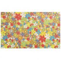 Tapete Brisa Infantil Flores Coloridas 43x130 cm - Colorido - Kapazi