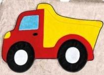 Tapete Caminhão Caçamba - Vermelho - Guga Tapetes