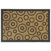 Tapete capacho sultan fibra de coco barroso 40x60cm - Sultan