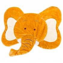 Tapete carinha elefante doce de leite - anjos baby - Anjos baby