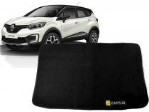 Tapete Carpete Mala Renault Captur 1 Pç Preto - Flash cromados