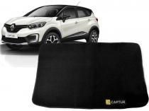 Tapete Carpete Mala Renault Captur 5 Pçs Preto - Flash Cromados