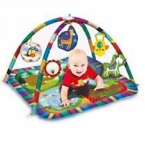 Tapete Centro De Atividades AZUL - Zp00179 Zoop Toys -